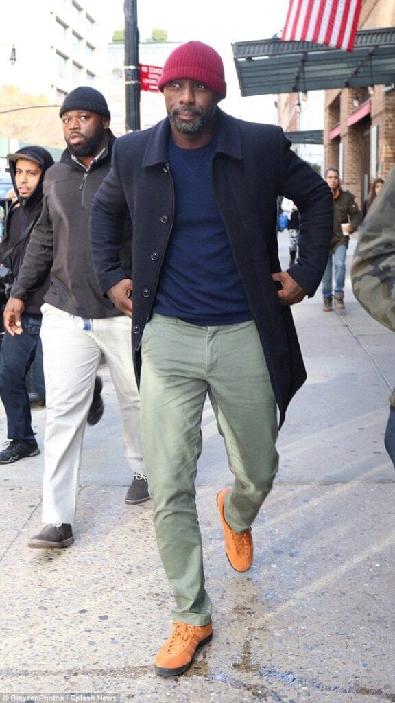 idris-576x1024 Men Outfits with Hats – 15 Ways to Wear Different Hats Fashionably