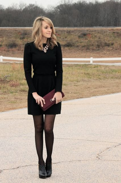 keep-it-simple Outfits for Winter Wedding - 19 Best Winter Dresses for Wedding