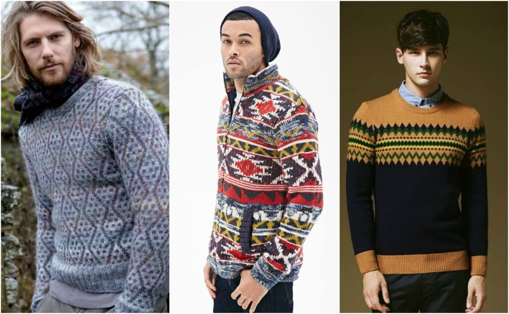 pattern1-1024x633 Sweater outfits for men – 17 Ways to Wear Sweaters Fashionably