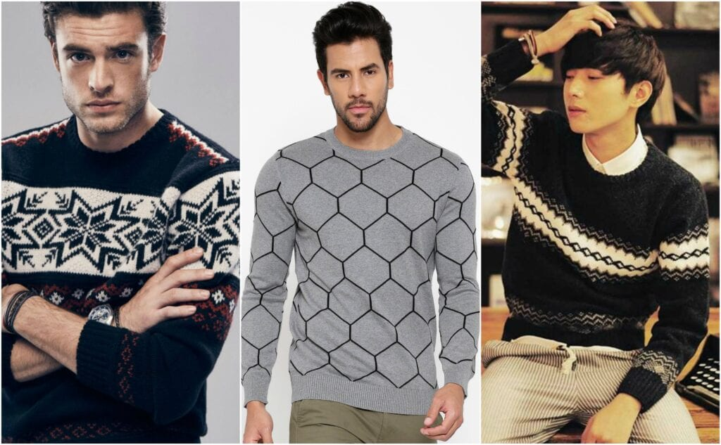 pattern2-1024x633 Sweater outfits for men – 17 Ways to Wear Sweaters Fashionably