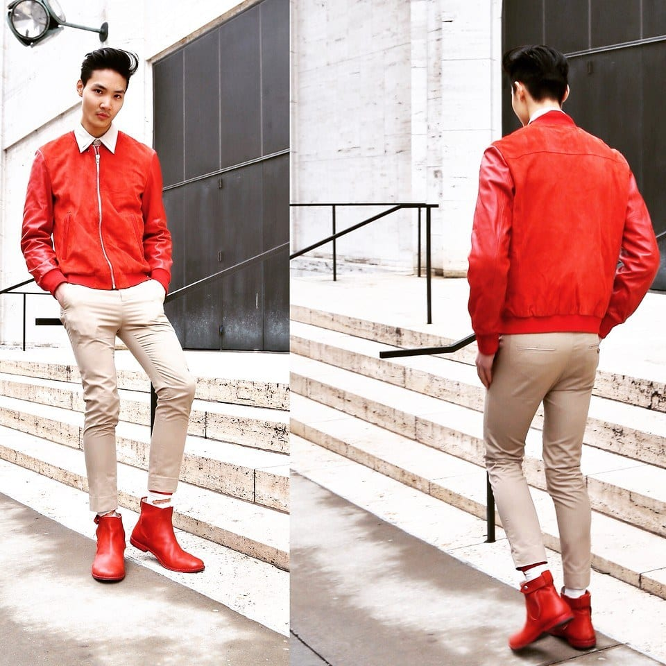Red Shoes Outfits For Men-18 Ways to Wear Red Shoes for Guys