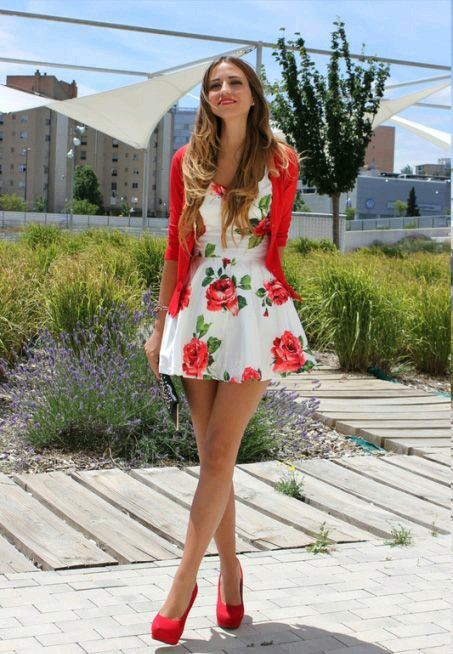 red-shoes-heels Women's Outfits with Red Shoes- 30 Outfits to Wear with Red Shoes