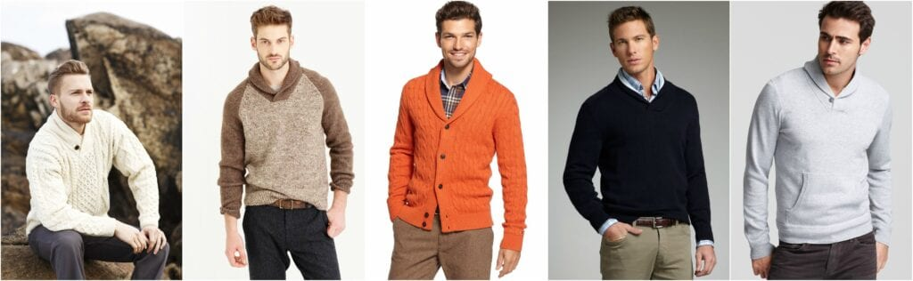 shawl-1024x316 Sweater outfits for men – 17 Ways to Wear Sweaters Fashionably