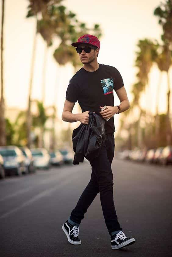 stylish-vans Men Outfits with Vans-20 Fashionable Ways to Wear Vans Shoes