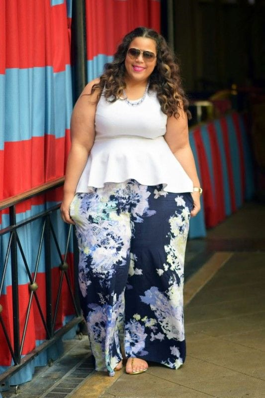 the-tourist-look Palazzo Pants for Plus Size–24 Palazzo Outfit Ideas for Curvy Girls