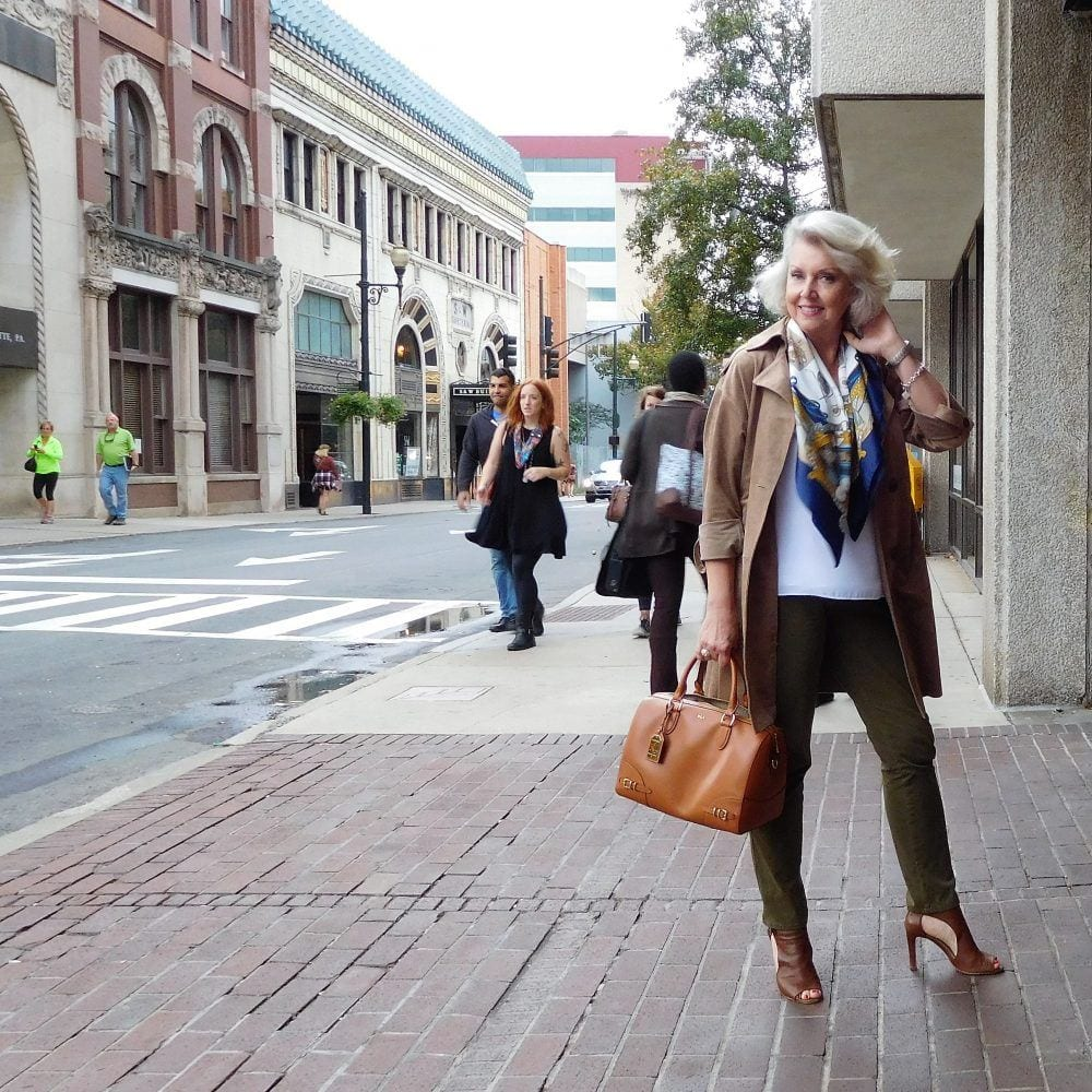 trench-coat 18 Outfits for Women Over 60- Fashion Tips For 60 Plus Women