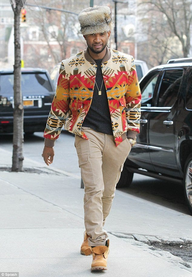 usher Men Outfits with Hats – 15 Ways to Wear Different Hats Fashionably