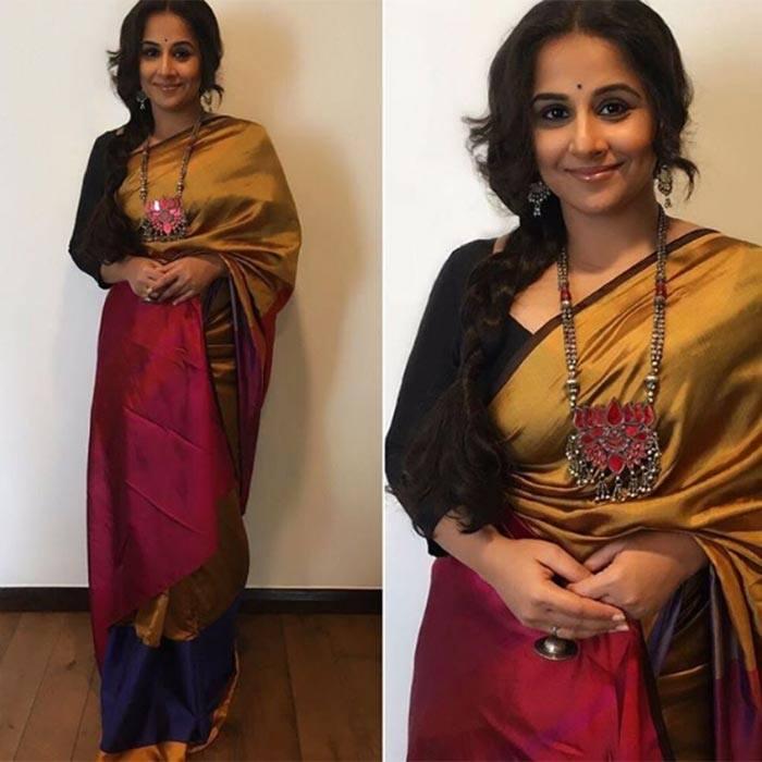 vidya-balan-saree How to Wear Saree for Short Height? 14 Pro Tips for Short Girls