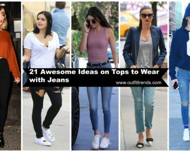 tops to wear with jeans for girls