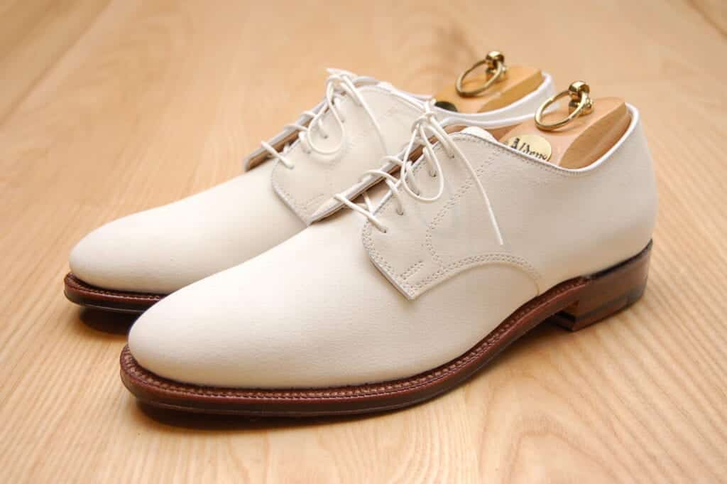 Men's Outfit with White Oxfords Shoes