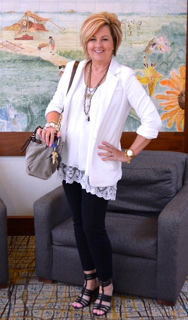 whiteon-white 18 Outfits for Women Over 60- Fashion Tips For 60 Plus Women