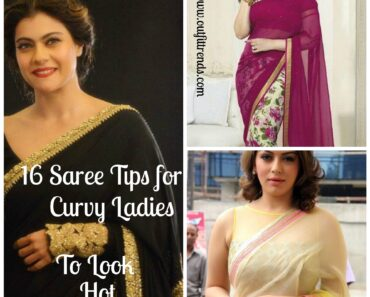 16 tyling ideas to wear saree for curvy women