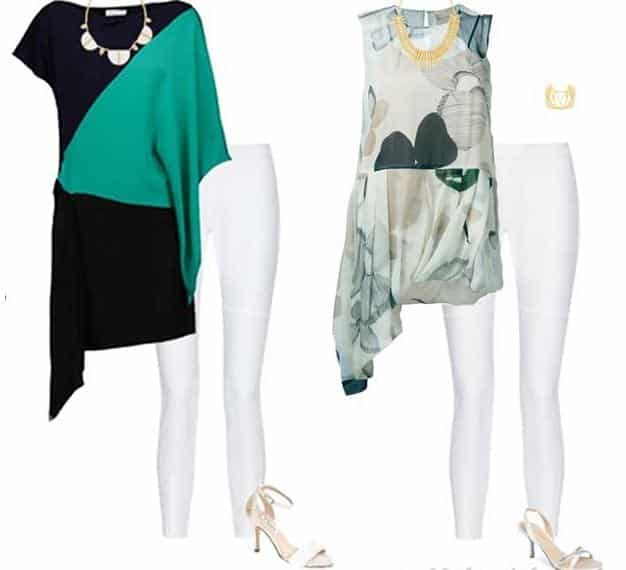 legging outfit for women over 40""