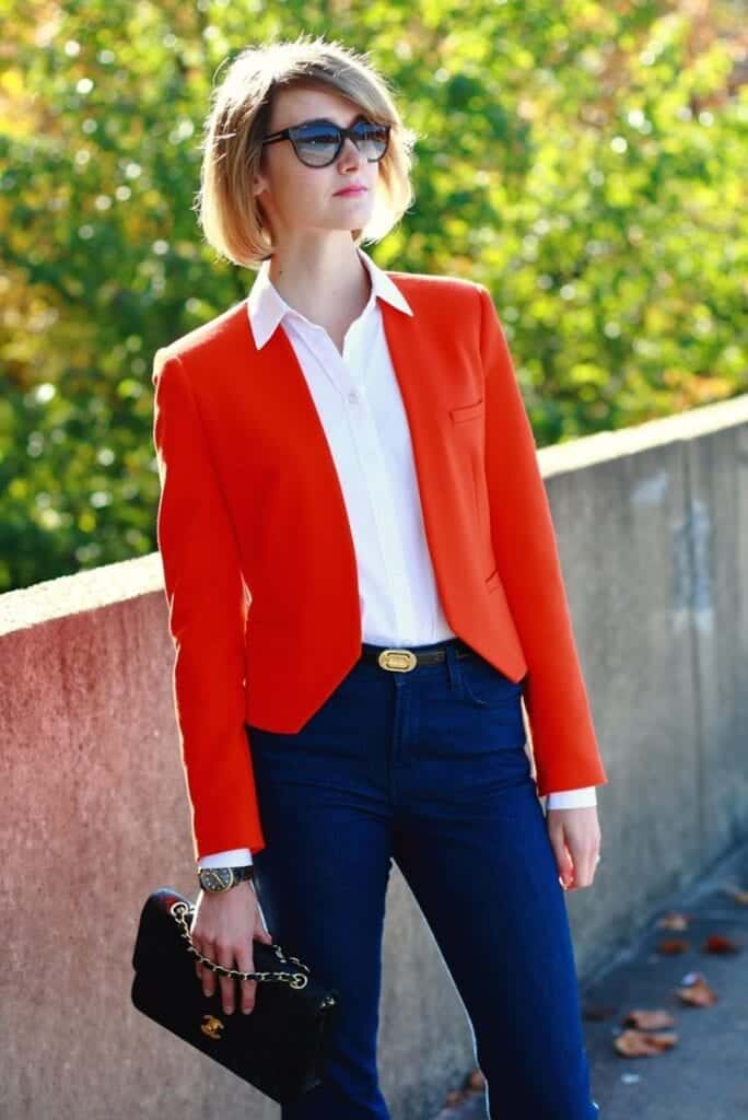 3-684x1024 Red Outfits For Women-18 Chic Ways To Wear Red Outfits