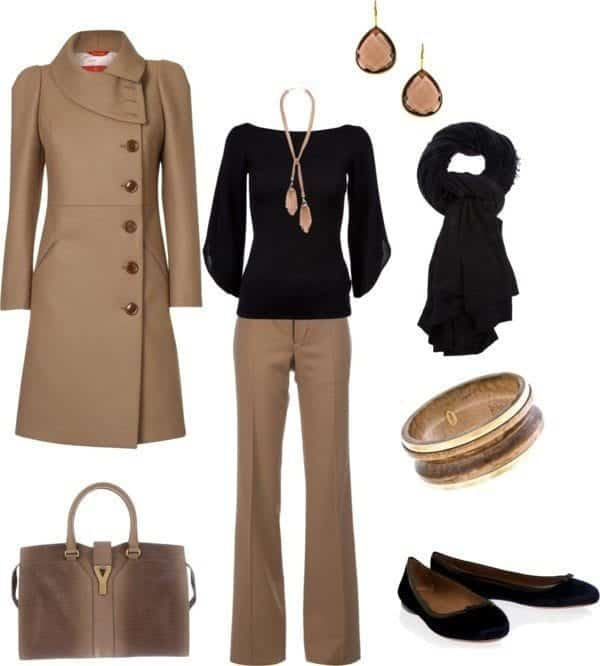 30-Classic-Work-Outfit-Ideas-18 22 Elegant WorkWear Outfits Combinations for Women