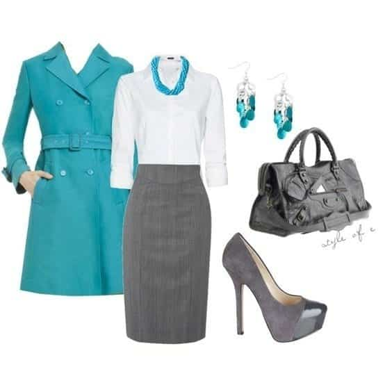 30-Classic-Work-Outfit-Ideas-19 22 Elegant WorkWear Outfits Combinations for Women