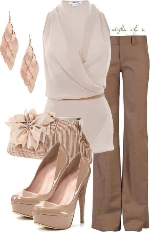 30-Classic-Work-Outfit-Ideas-36 20 Ideal Spring Work Wear Outfits For Women for Elegant Look