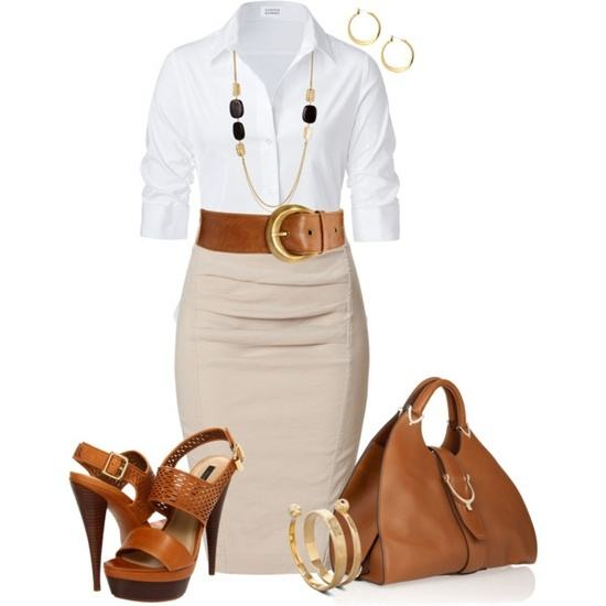 30-Classic-Work-Outfit-Ideas-40 Women's Work Wear Outfits-20 Best Summer Office Wear for Women