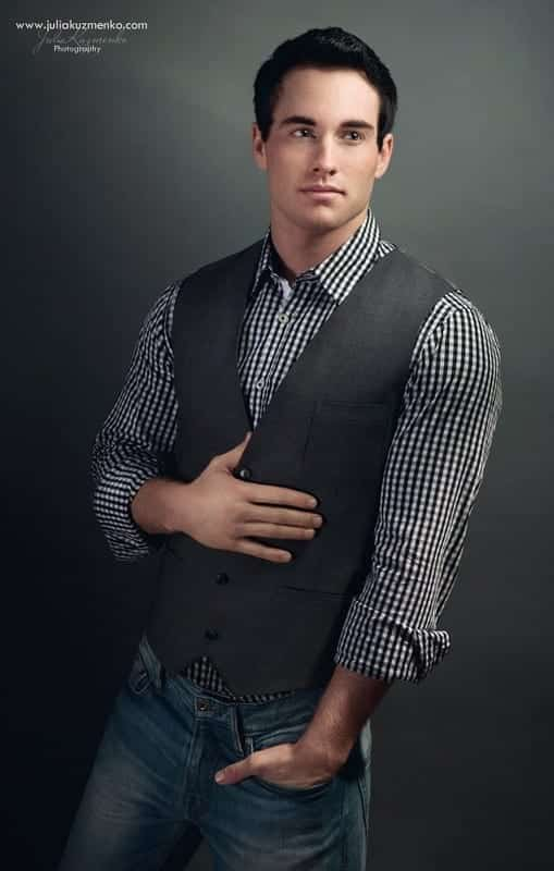 Black-check-shirt-with-waist Black Shirts Outfits for Men - 19 Ways to Match Black Shirt