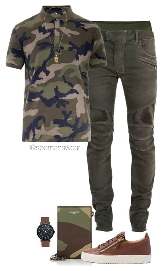 Cargo-outfit-for-jogging Men Polyvore Outfits– 25 Best Polyvore Combinations For Guys
