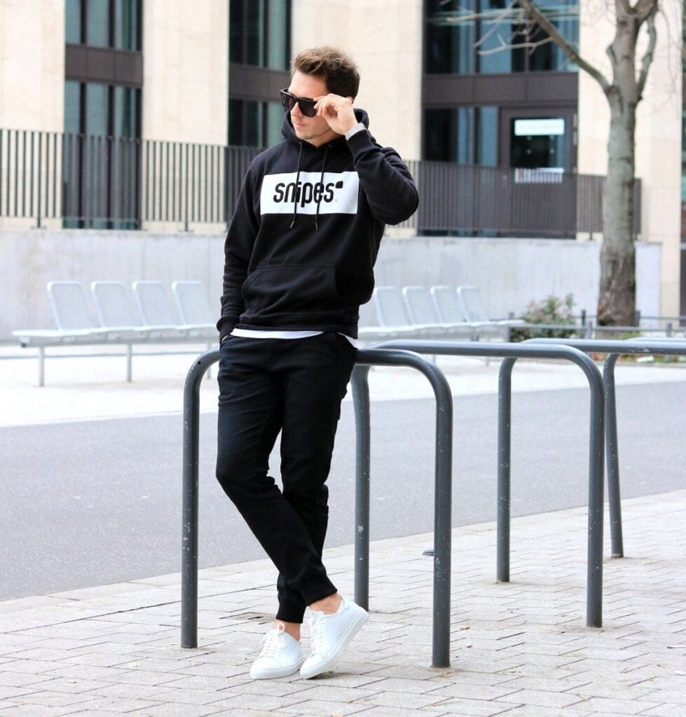 Cozy-Outfit-979x1024 Black Shirts Outfits for Men - 19 Ways to Match Black Shirt