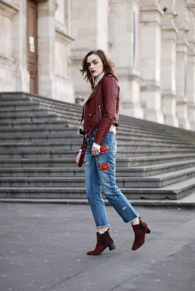 How to Wear Embroidered Jeans?16 Embroidered Jeans Outfits
