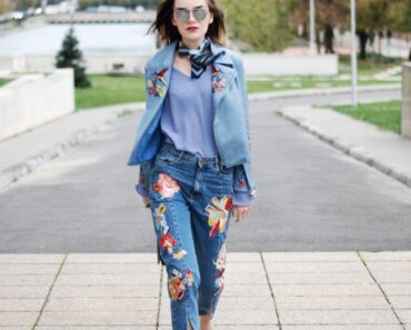 Embroidered Jeans Outfits (5)