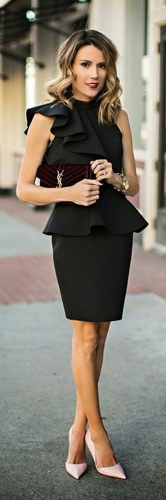 J1KSbKE Outfits with Ruffle Tops- 15 Ideas How To Wear Ruffle Tops