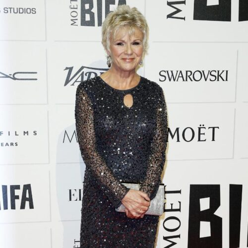 Julie-Walters-Sparkling-outfit-500x500 Casual Outfit Ideas for Women Over 60-How to Dress in Your 60s