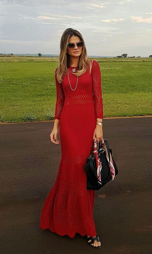 Red-Outfits-22 Red Outfits For Women-18 Chic Ways To Wear Red Outfits