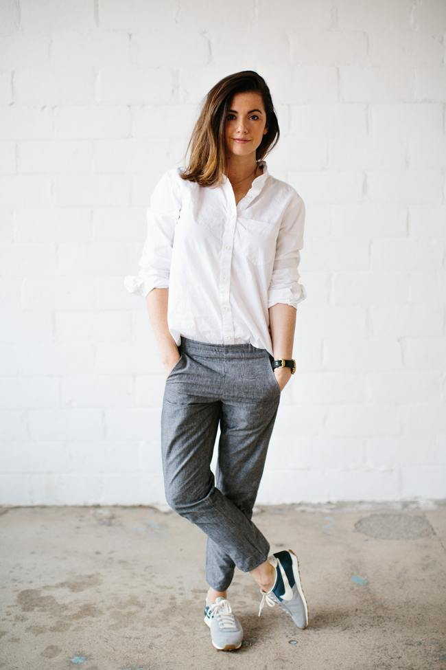 White shirt outfits 18 ways to wear white shirts for girls for White pants denim shirt