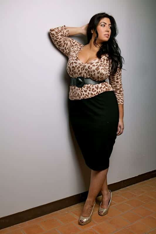 animal Plus Size Date Outfits- 20 Ideas How To Dress Up For First Date