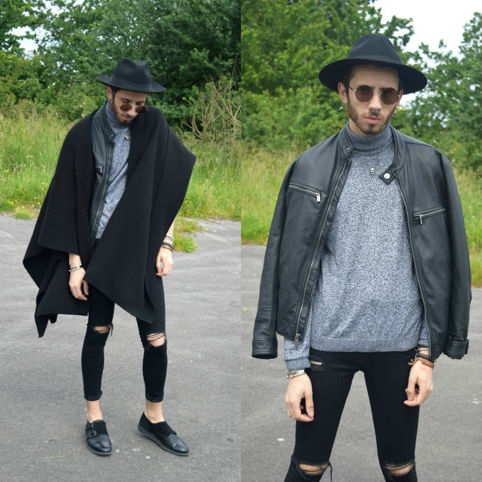 black-hat2 Black Jeans Outfits for Men–18 Ways to Wear Black Jeans Guys