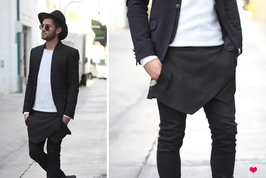 black-hat4 Black Jeans Outfits for Men–18 Ways to Wear Black Jeans Guys
