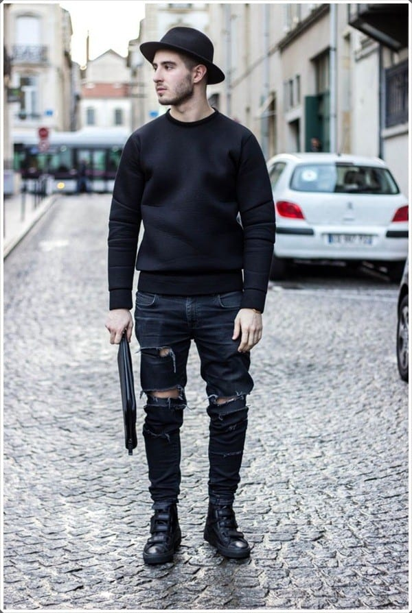 Black Jeans Outfits For Men 18 Ways To Wear Black Jeans Guys