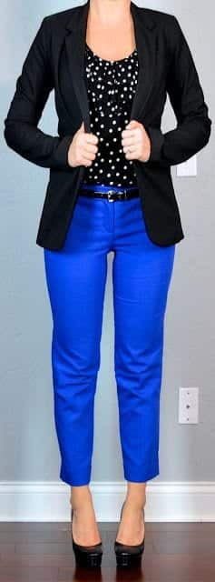 blazer-with-crop-pants-1 Women Cropped Pants Outfits- 17 Ideas How To Wear Crop Pants