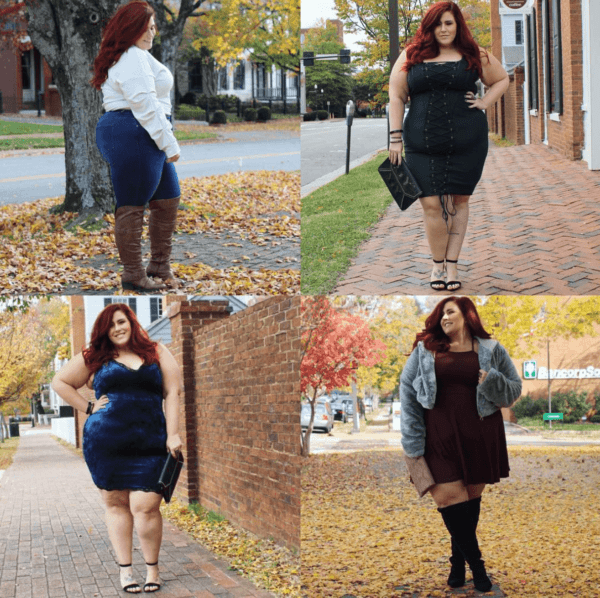 cute-outfits-for-plus-size-women-600x598 12 Hot Plus Size Street Style Fashion Ideas for This Season