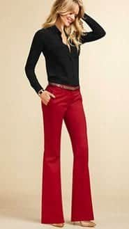 doctor-rocker-2 Red Outfits For Women-18 Chic Ways To Wear Red Outfits