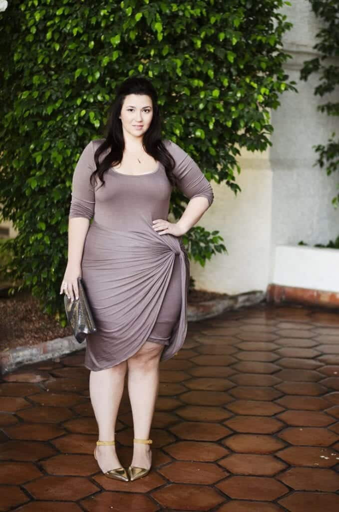 drape-679x1024 Plus Size Date Outfits- 20 Ideas How To Dress Up For First Date
