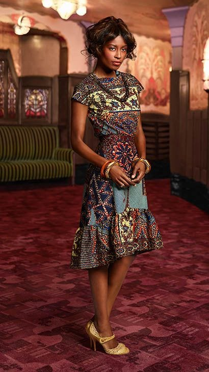 fish_tail Kitenge Dresses for Young Girls-18 Cute Kitenge Ankara Dress