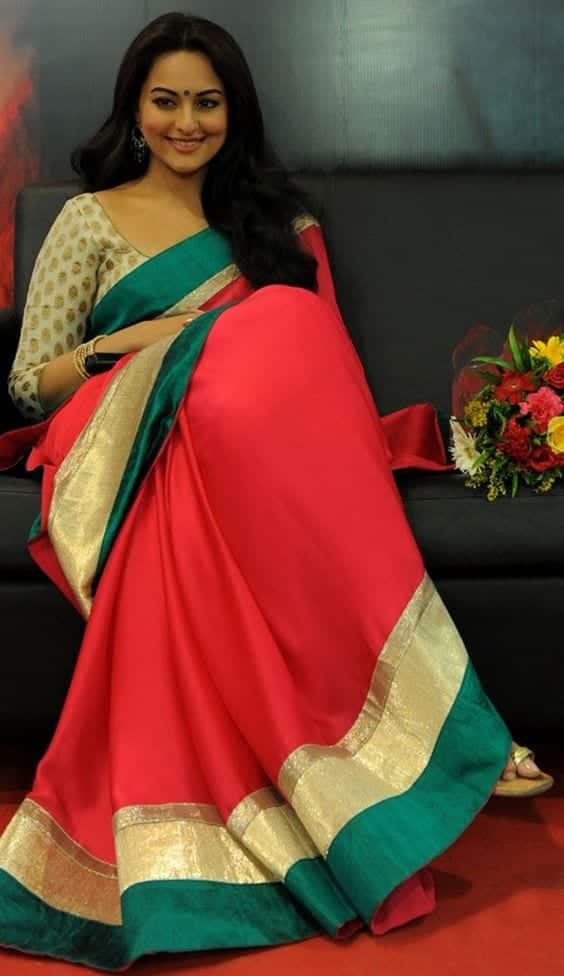 16 ways to wear saree for curvy women (10)