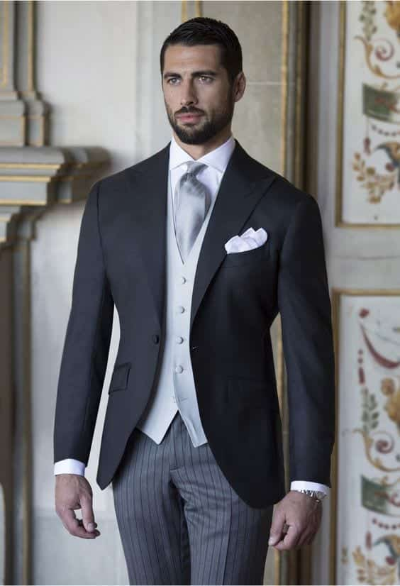 grey Semi Formal Wedding Attire For Men-20 Best Semi Formal Outfits