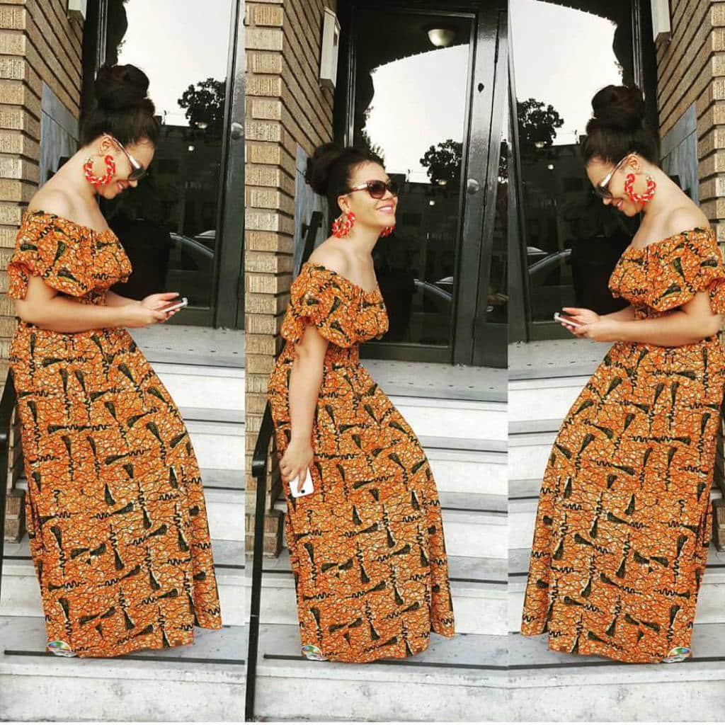 hair Kitenge Dresses for Young Girls-18 Cute Kitenge Ankara Dress