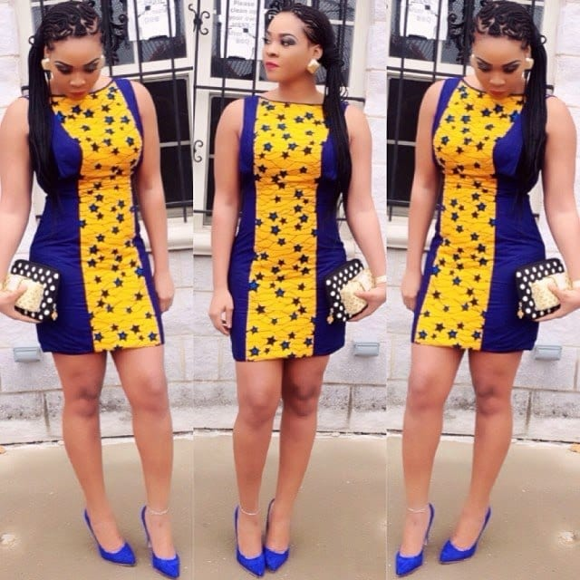 hairstyle Kitenge Dresses for Young Girls-18 Cute Kitenge Ankara Dress