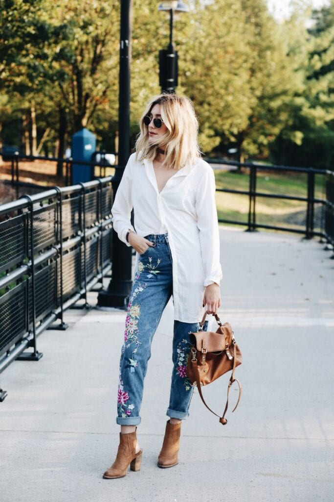 how-do-you-wear-that-style-blog-topshop-nordstrom-fall-5-683x1024 How to Wear Embroidered Jeans?16 Embroidered Jeans Outfits