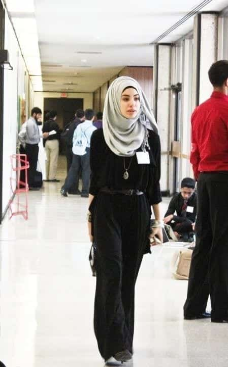 how-to-wear-hijab-to-office Hijab office Wear - 12 Ideas to Wear Hijab at Work Elegantly