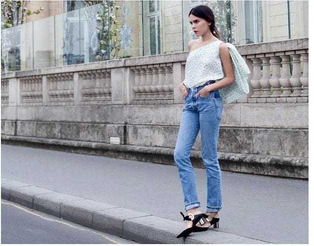 pointy-toe-with-jeans Jeans Outfits in Heels - 20 Ways To Wear Jeans With Heels