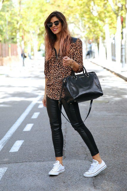 Outfits with Black Leggings u2013 21 Ways to Wear Black Leggings