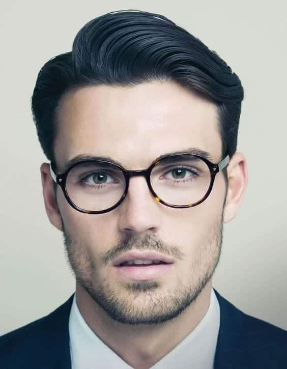 the-nerd-look Patchy Beard Styles- 40 Best Patchy Facial Hairstyling Ideas