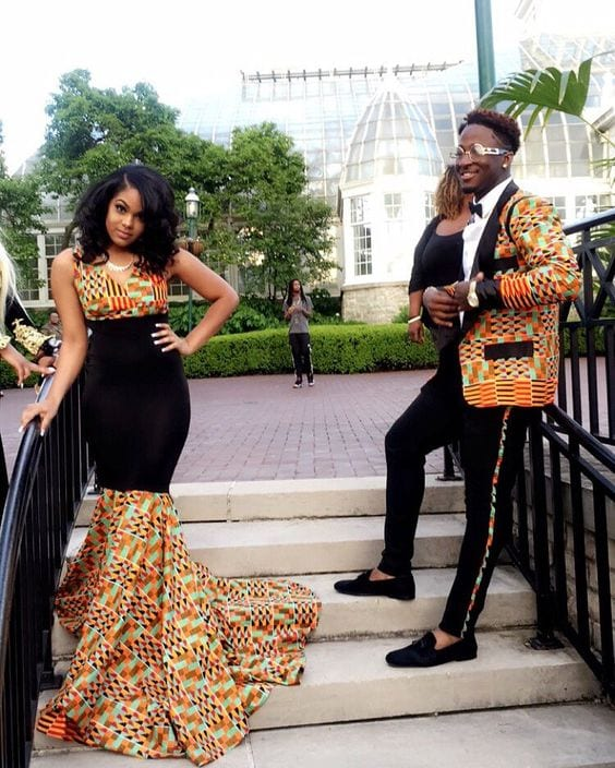 wedding-ankara Kitenge Dresses for Young Girls-18 Cute Kitenge Ankara Dress